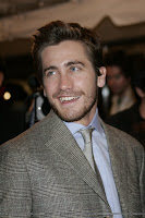 Jake at the Proof TIFF screening, with such a gorgeous smile I can forgive the suit