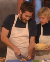 Chef Jacob Gyllenhaal. Yummy.