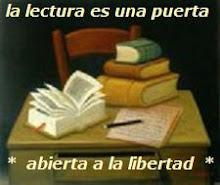 Un libro abierto es un cerebro que habla...