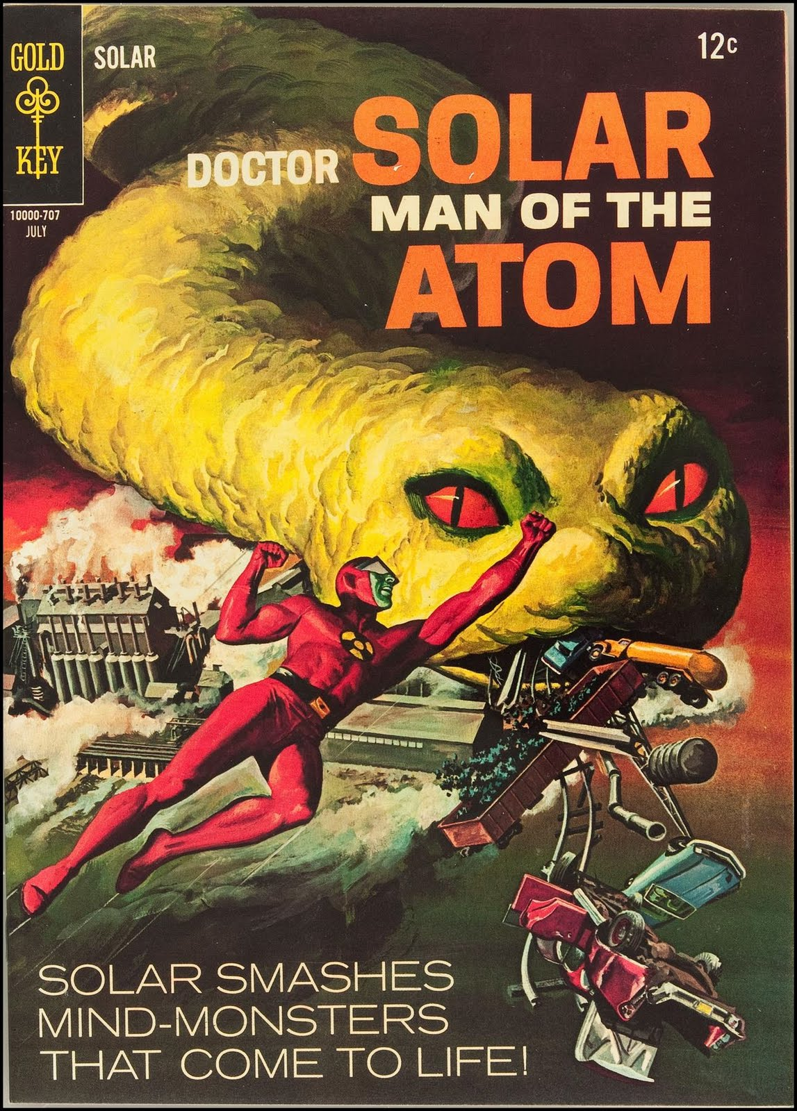 Doctor Solar, Man of the Atom (1962) #7 - Read Doctor ...
