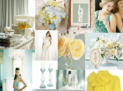 turquoise blue wedding inspiration