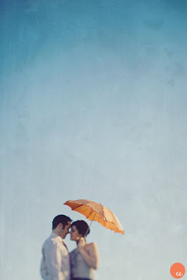 vintage umbrella wedding inspiration