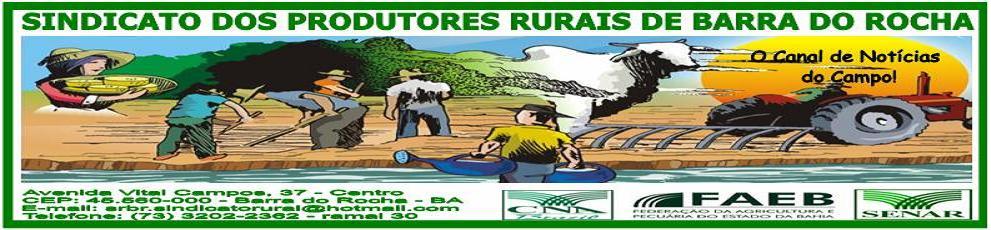 SINDICATO DOS PRODUTORES RURAIS DE BARRA DO ROCHA