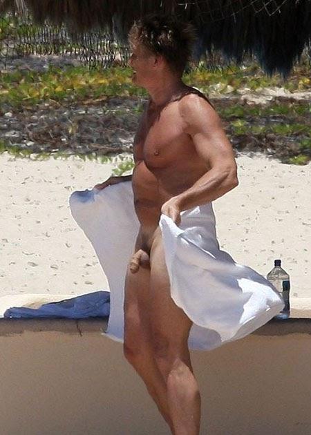 Quem Esa Foto!!! 2: Bruce Willis Desnudo Pene