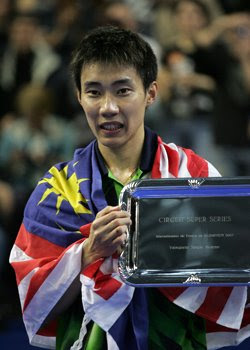 Lee Chong Wei, Badminton Champion