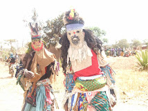 Gule Wankulu dancer