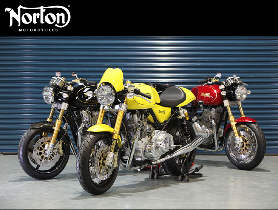 Norton Commando 961 Cafe Racer 2010 motorcycles