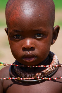 Himba child, near Kamanjab, Namibia © Matt Prater