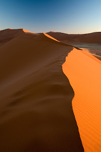Crest of Dune 45, Namib-Naukluft National Park, Namibia © Matt Prater