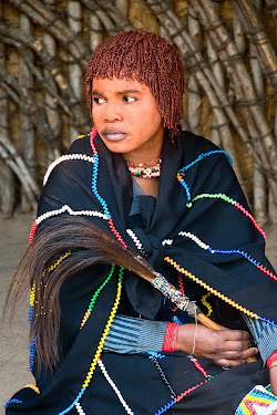 Fortune teller in DumaZulu Traditional Village in Hluhluwe, South Africa © Matt Prater