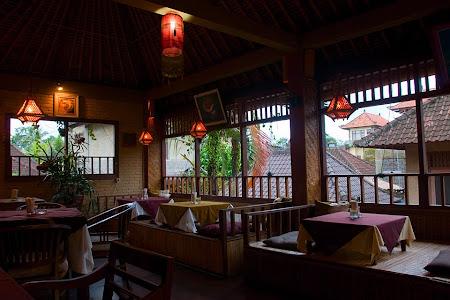Restaurant in Ubud, Bali, Indonesia © Matt Prater