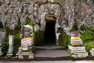 Goa Gajah (Elephant Cave) near Ubud, Bali, Indonesia © Matt Prater