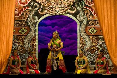 Wayang Orang performance, Solo (Surakarta), Java, Indonesia © Matt Prater
