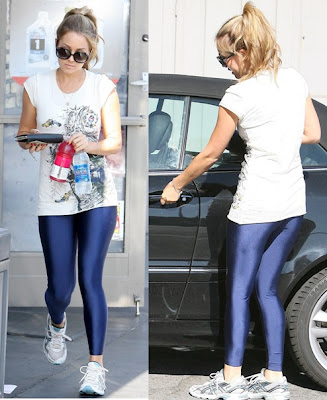lauren conrad glasses. lauren conrad leggings.