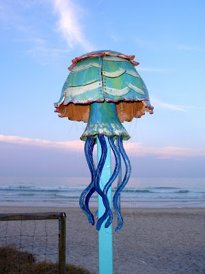 photo of art on the beach in Currumbin