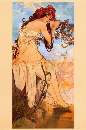 Art Nouveau Posters. the Art Nouveau style.