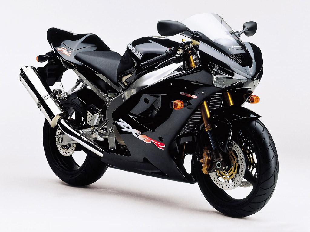 Kawasaki ZX 6R Black