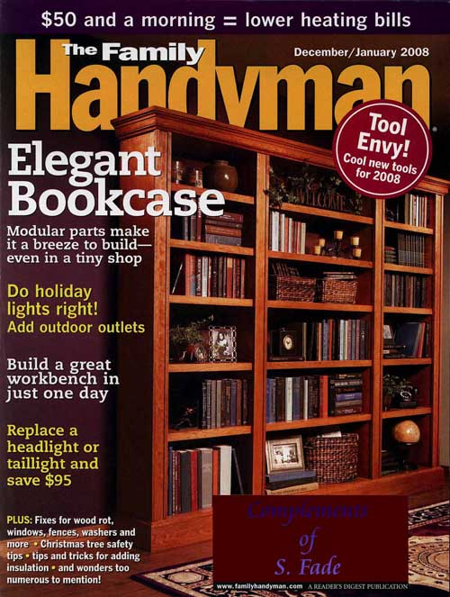 Family Handyman Magazine: Only $6.99/Year!