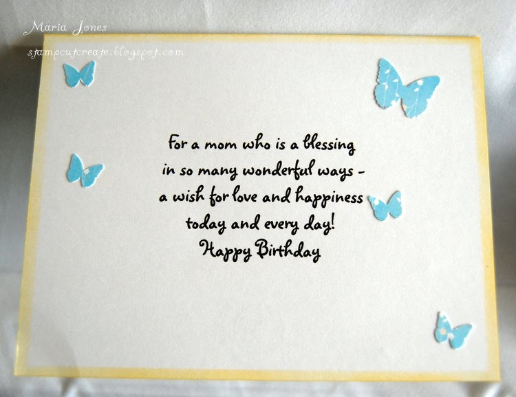 stamp, cut, create an imagine birthday card, Birthday card