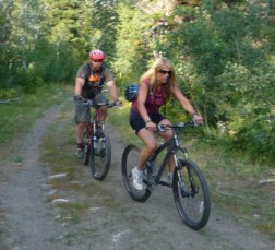 Mountain Biken!
