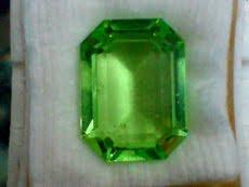 Batu  Permata Green Topaz