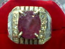 cicin batu permata ruby africa