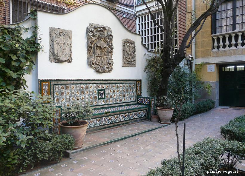 Paisaje vegetal museo sorolla i madrid for Azulejos de patio