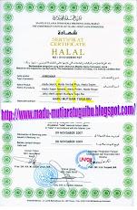 Sertifikat Halal MUI