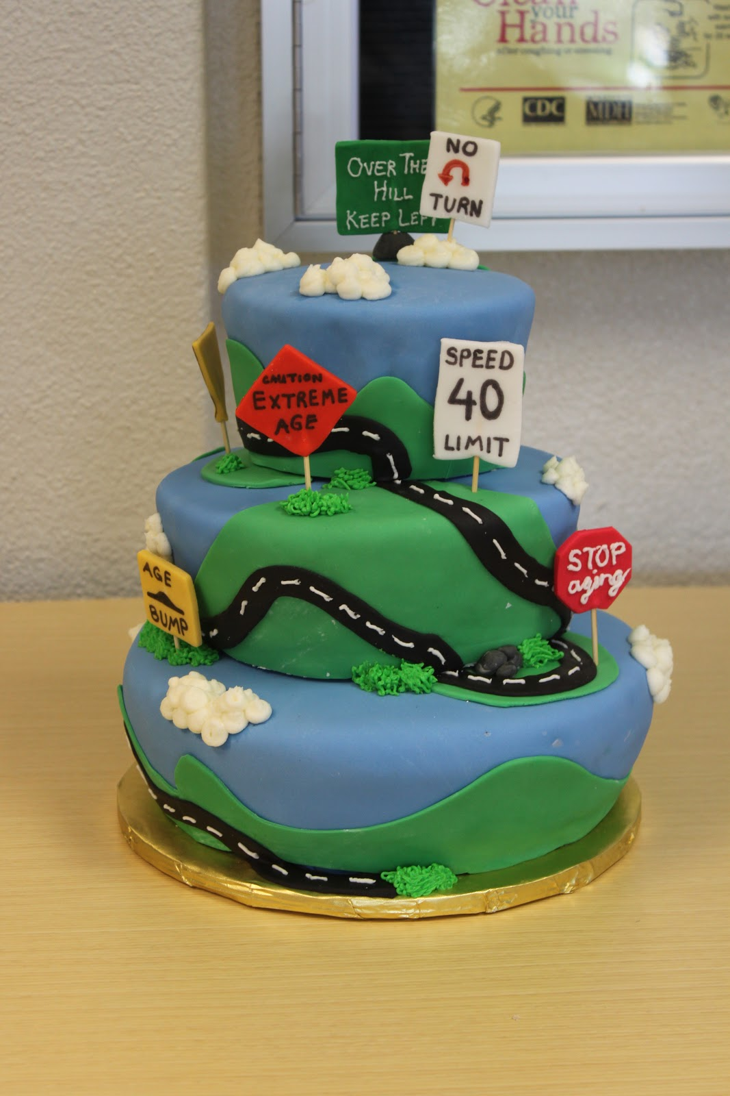 Cakes By Lee: Road of Life- over the hill