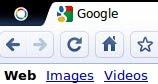 ภาพ: ตรงด้านซ้ายบนของ tab bar มีโลโก้ของ Chrome OS อยู่ด้วย? คลิกแล้วจะเกิดอะไรขึ้นหว่า??