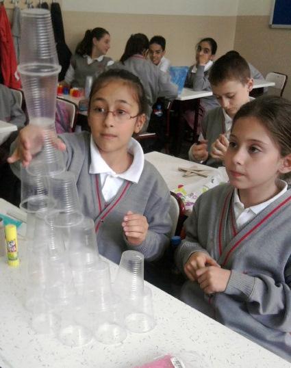 Sınıf hazır birim plastik bardak