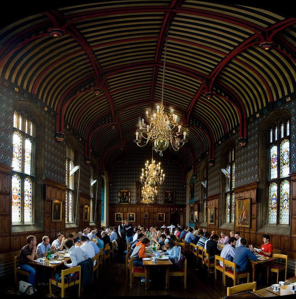 Blogs de turismo visita a cambridge ciudad universitaria for Comedor harry potter