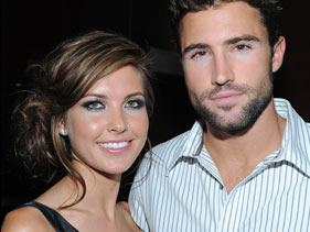 Who was brody hookup during the hills
