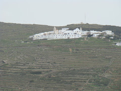 a monastery of tinos-μονη κεχροβουνιου της τηνου