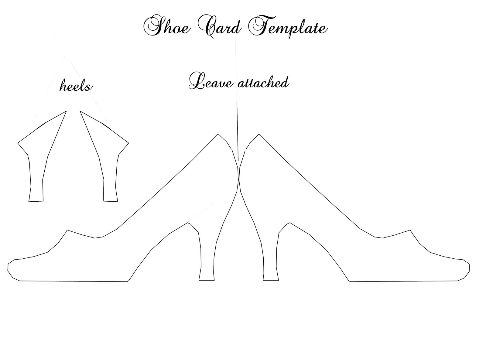 Free printable paper baby shoe template for How to make paper shoes templates