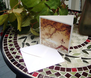 mini note card stationary with envelope