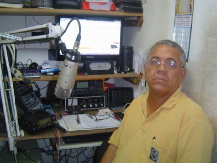 PP1CN - Cezar em sua estação com o IC- 718