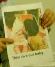 Dementia folks love babies