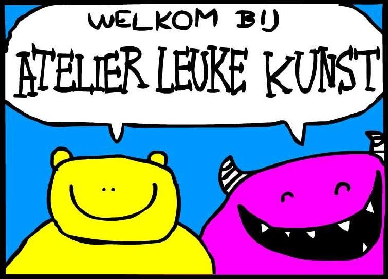 Welkom bij Atelier Leuke Kunst
