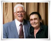 Pastor Alvino Daudt e esposa Malvina Daudt