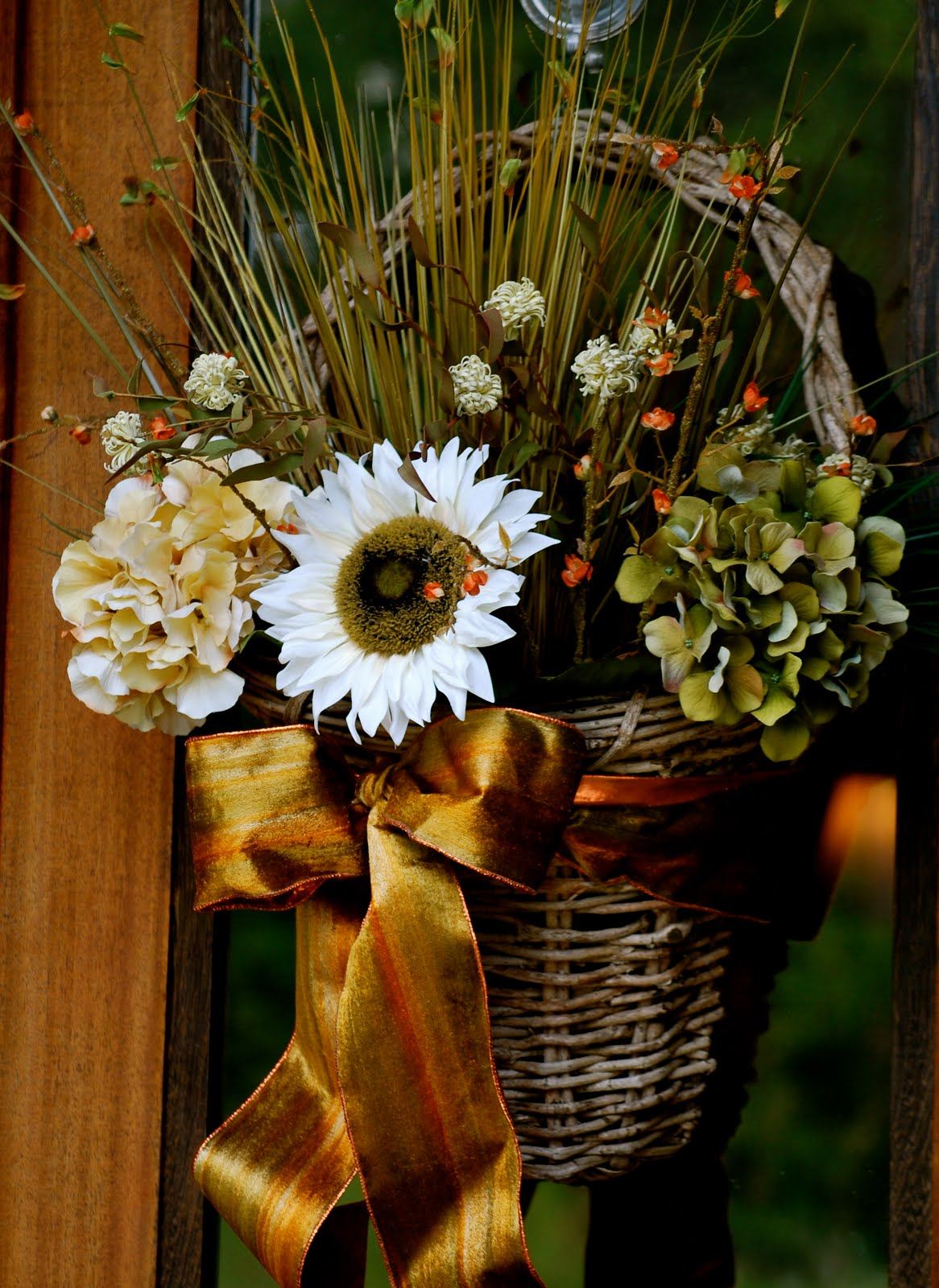 Fall Door Decorations - Amanda Jane Brown