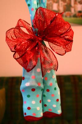 Christmas Sock Exchange Game