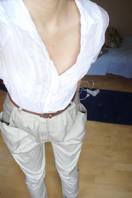 white shirt jodhpurs