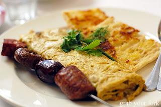 chermoula omelette