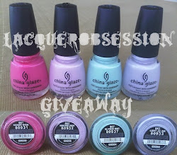 Lacquer Obsession's Giveaway!