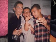 Simon, Flávio e Sapão(Roadie)