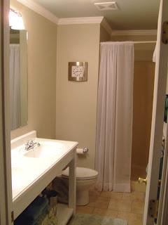 Remodelaholic master bath retro remodel asheville house for Bath remodel asheville nc