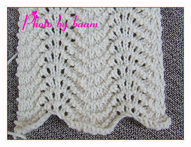 Easy Lace Scarf Knitting Pattern : SIMPLE LACE KNITTING STITCHES Free Knitting Projects