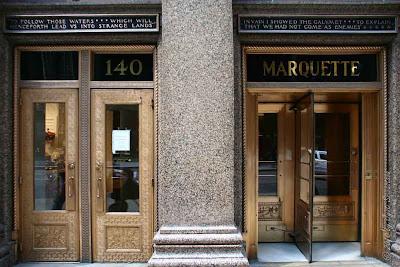 Marquette building - bronze doors & Chicago - Architecture \u0026 Cityscape: Marquette building - bronze doors