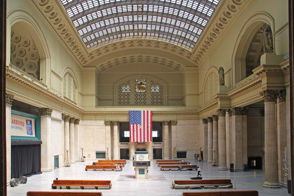 Grand Interiors: # Image 1 U0026 2: Chicago Union Station: Grand Hall.. # Image  3 U0026 4: Chicago Union Station: Stairways.. # Image 5 U0026 6: Chicago Union  Station: ...